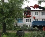 Восстановление домов в селе Воскресенское после урагана. 2.07.2014, Фото: 16