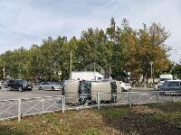 В Туле на ул. Оборонной Renault Logan после ДТП опрокинулся набок, Фото: 15