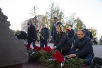 В Туле открыли памятник экипажу танка Т-34, Фото: 37