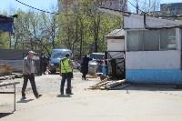 В Туле снесли часть рынка «Южный», Фото: 9