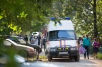 На стройке на улице Фрунзе сгорели вагончики рабочих., Фото: 8