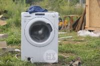 В Плеханово вновь сносят незаконные дома цыган, Фото: 10