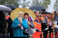 В Суворовском районе  введен в эксплуатацию участок автодороги «Калуга-Перемышль-Белёв-Орёл», Фото: 8