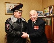 Сергей Галкин поздравил с 93-летием ветерана Великой Отечественной войны Алексея Мосина, Фото: 1