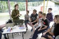 Юнармейцы проводят мастер-классы в оздоровительных лагерях Тульской области, Фото: 2
