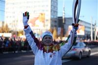Третий этап эстафеты олимпийского огня: проспект Ленина, Фото: 15