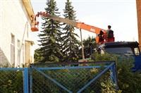 Денис Бычков проверяет школы Тульской области, Фото: 53
