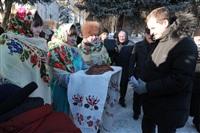 Владимир Груздев в Дубенском районе. 30 января 2014, Фото: 45