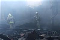 Пожар на хлебоприемном предприятии в Плавске., Фото: 18