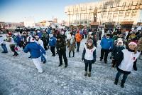 Физкультминутка на площади Ленина. 27.12.2014, Фото: 4