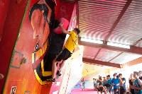Соревнования на скалодроме среди детей, Фото: 31