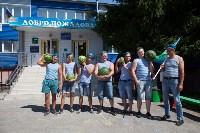 ветераны-десантники на день ВДВ в Туле, Фото: 17