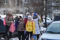 У дома, поврежденного взрывом в Ясногорске, демонтировали опасный угол стены, Фото: 18