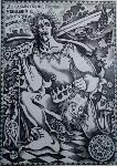 выставка тульского художника, пропавшего в Кармадоне с Сергеем Бодровым, Фото: 3
