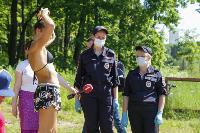 Полицейский рейд в Белоусовском парке, Фото: 21