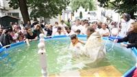 Крещение жителей Новомосковска, Фото: 5