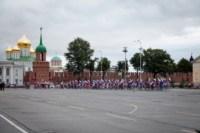 Велопробег в цветах российского флага, Фото: 3