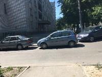 Автохамы на ул. Руднева, Фото: 2