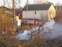 Возгорание сухой травы на ул.Комбайновая, Фото: 9