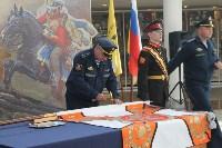 В Музее оружия торжественно укрепили на древке знамя суворовского училища, Фото: 3