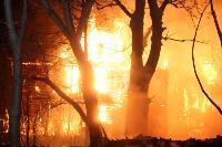 Крупный ночной пожар в Туле, Фото: 29