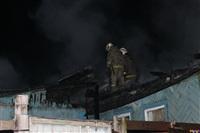 В поселке Октябрьский сгорел дом., Фото: 5