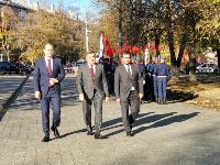 В Туле открыли памятник экипажу танка Т-34, Фото: 61