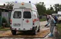 Сотрудники МЧС и Роспотребнадзора учились ликвидировать очаг сибирской язвы, Фото: 13