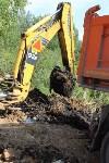 Ликвидация разлива нефтепродуктов в Комарках, Фото: 9