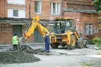 В Туле началось благоустройство скверов и дворов, Фото: 22