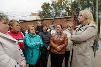 Алексей Дюмин посетил дом в Ясногорске, восстановленный после взрыва, Фото: 31
