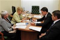 Жители области пожаловались Владимиру Груздеву на плохие дороги и проблемы ЖКХ, Фото: 30