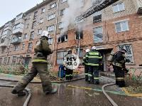 На улице Металлургов в Туле загорелась квартира , Фото: 5