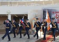 Церемония крепления Боевого знамени к древку, Фото: 9