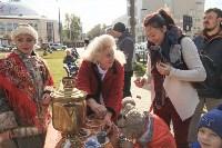 Высадка елей в сквере Глеба Успенского, 16.10.2015, Фото: 2