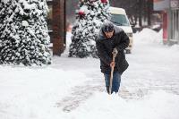 Последствия снежного циклона в Туле, Фото: 31