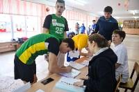 Старт тестирования комплекса ГТО в тульских школах. 16 февраля 2016 года, Фото: 5