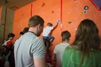 Соревнования на скалодроме среди детей, Фото: 36