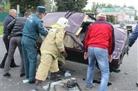 ДТП в Басова с участием четырёх автомобилей. 3 сентября 2013, Фото: 15