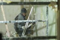 Дмитрий Миляев проверил, как идет ремонт вечерней школы на ул. Зорге, Фото: 19