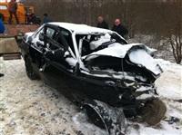 На автодороге Тула-Белев произошло два серьезных ДТП, Фото: 2