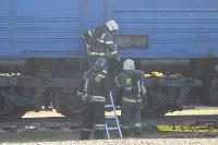 Горящий поезд: учения МЧС 23 сентября , Фото: 3