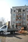 У дома, поврежденного взрывом в Ясногорске, демонтировали опасный угол стены, Фото: 17