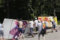 Молодые туляки попытали свои силы на конкурсе граффити, Фото: 10