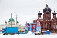Праздничное оформление площади Ленина. Декабрь 2014., Фото: 11