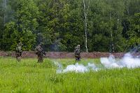 В Туле спецподразделения ОМОН и СОБР провели учения, Фото: 40