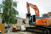 В Плеханово убирают незаконные строения, Фото: 69