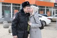 Полиция поздравила тулячек с 8 Марта, Фото: 60