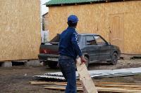 В тульском селе сносят незаконные цыганские постройки, Фото: 21