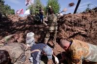 Останки бойцов в деревне Криволучье, Фото: 76
